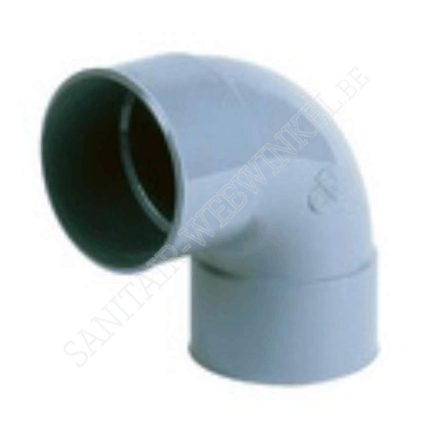 PVC bocht 90° mof - mof Ø90