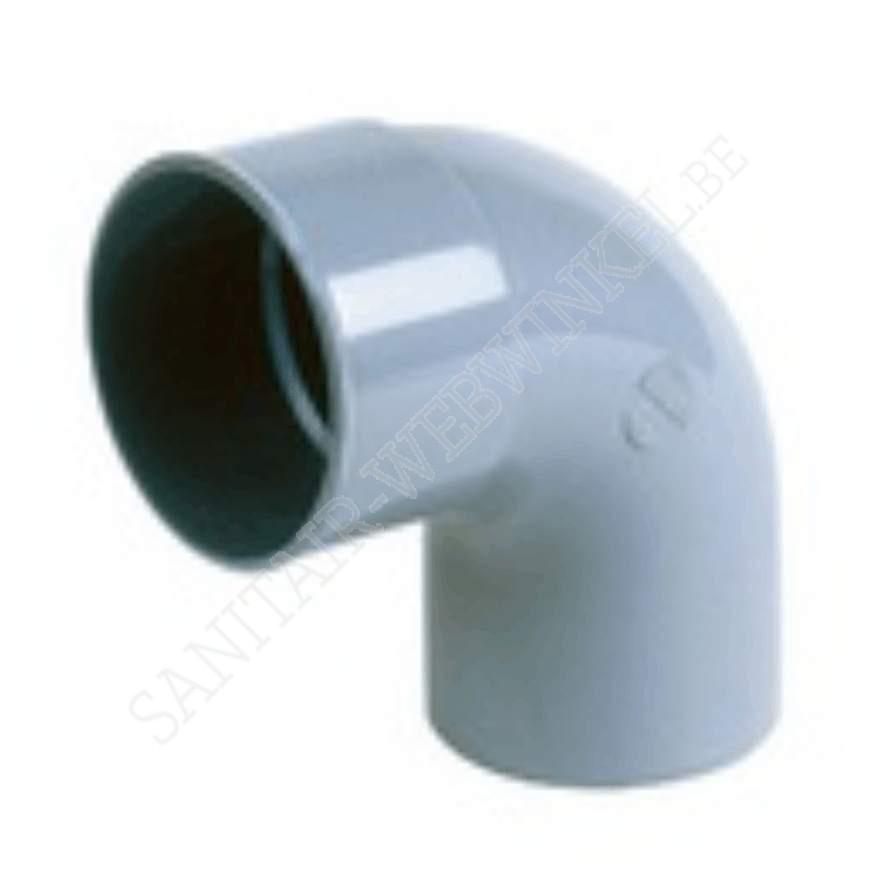 PVC bocht 90° mof - spie Ø75