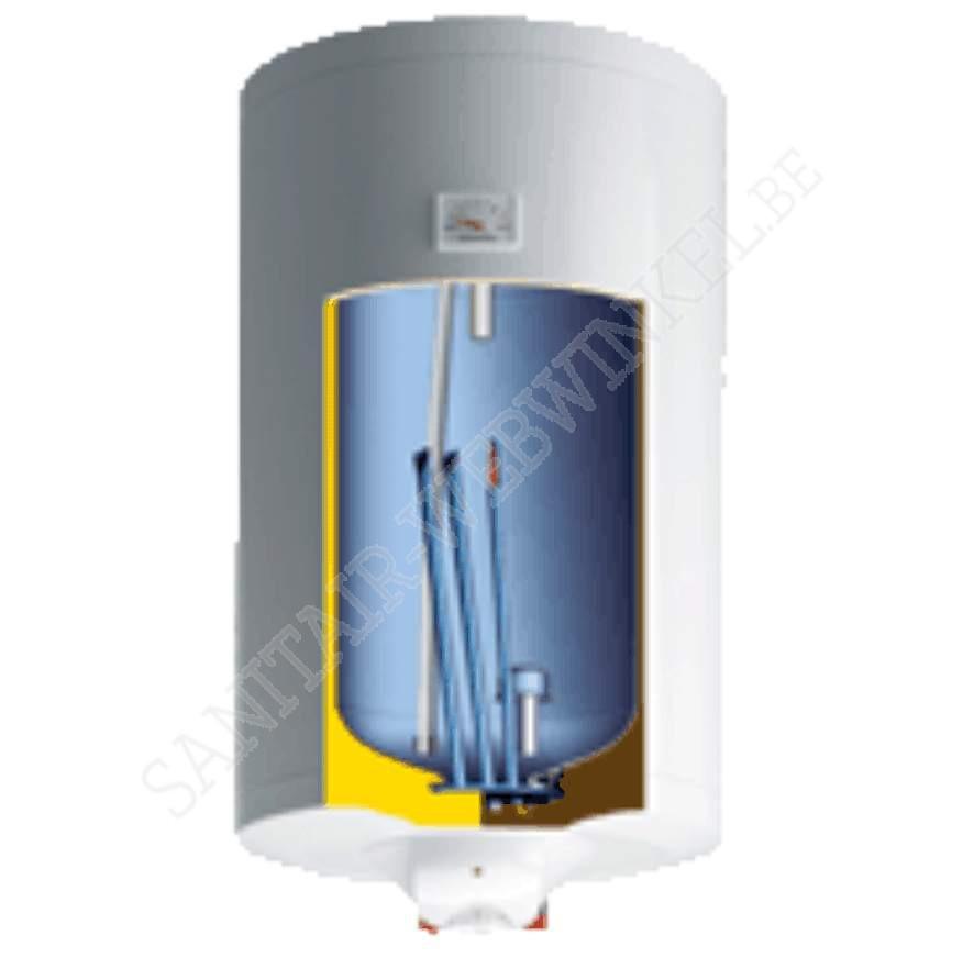 Elektrische boiler 50liter met droge weerstand