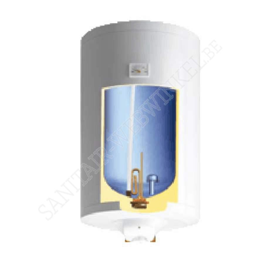 Elektrische boiler 80 liter met natte weerstand