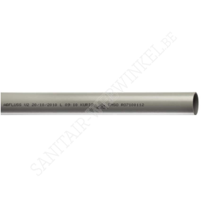PVC afvoerbuis Ø80 mm 4meter