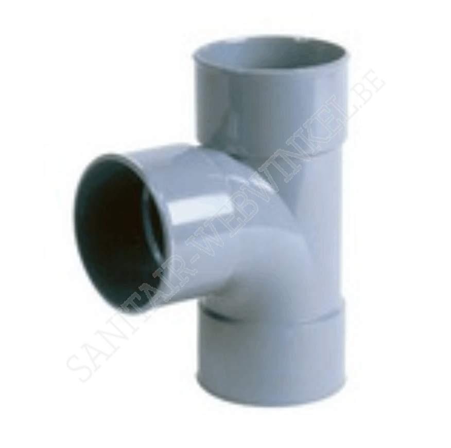 PVC T-stuk 90° mof - mof – mof Ø100