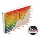 Novello ECO radiator incl console 300/22/1600 1493Watt